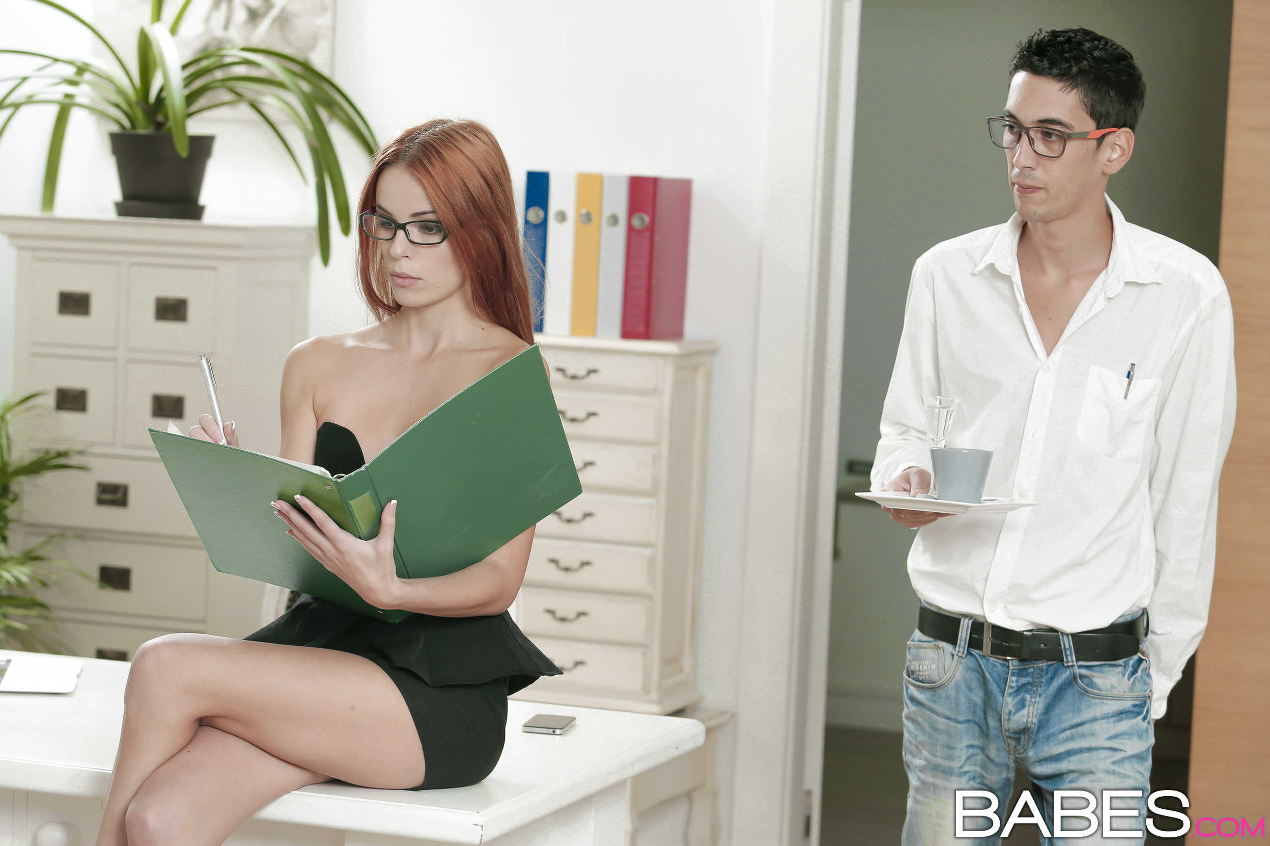 European redhead Susana Melo taking cum facial in white stockings № 71153 без смс