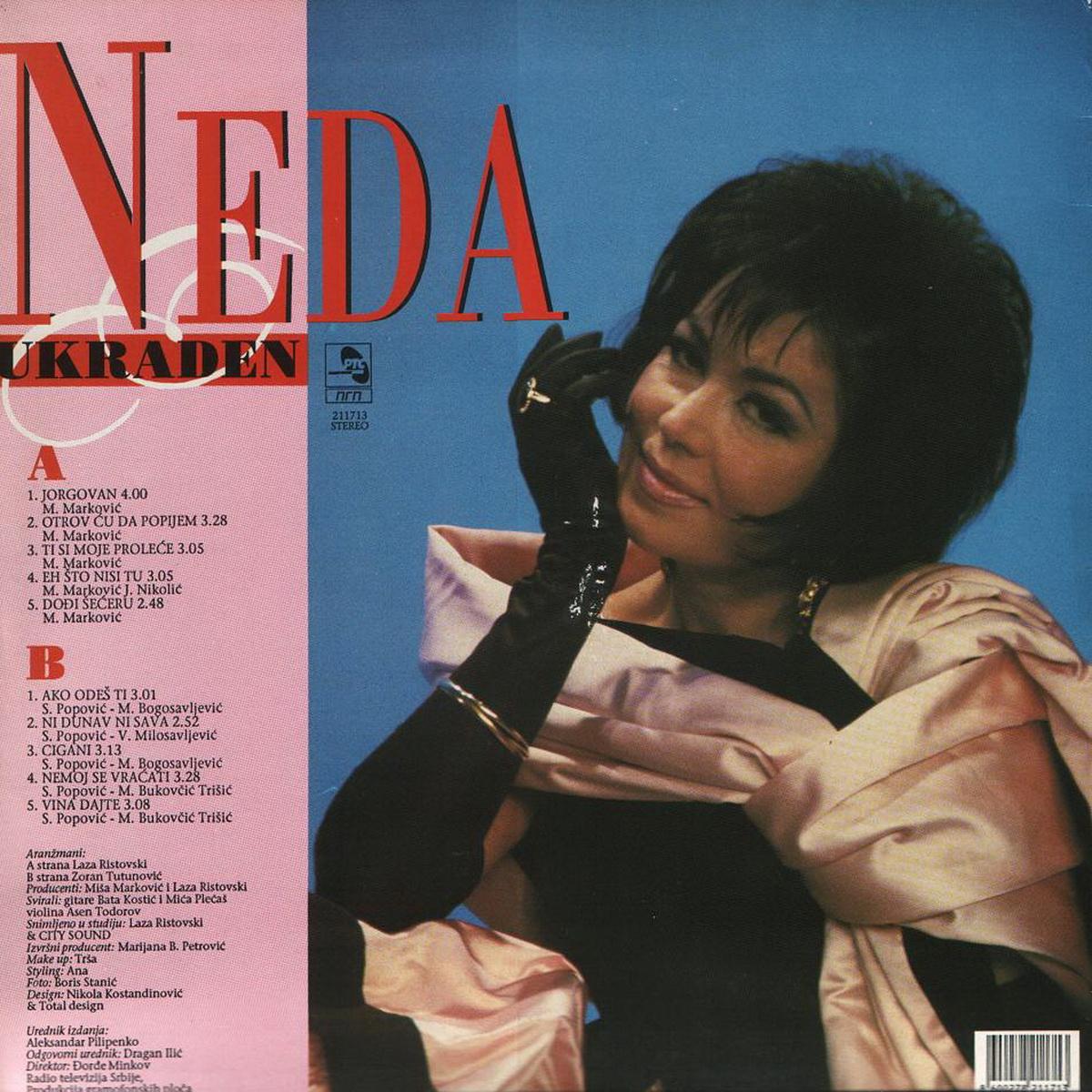 Neda Ukraden 1993 Jorgovani B