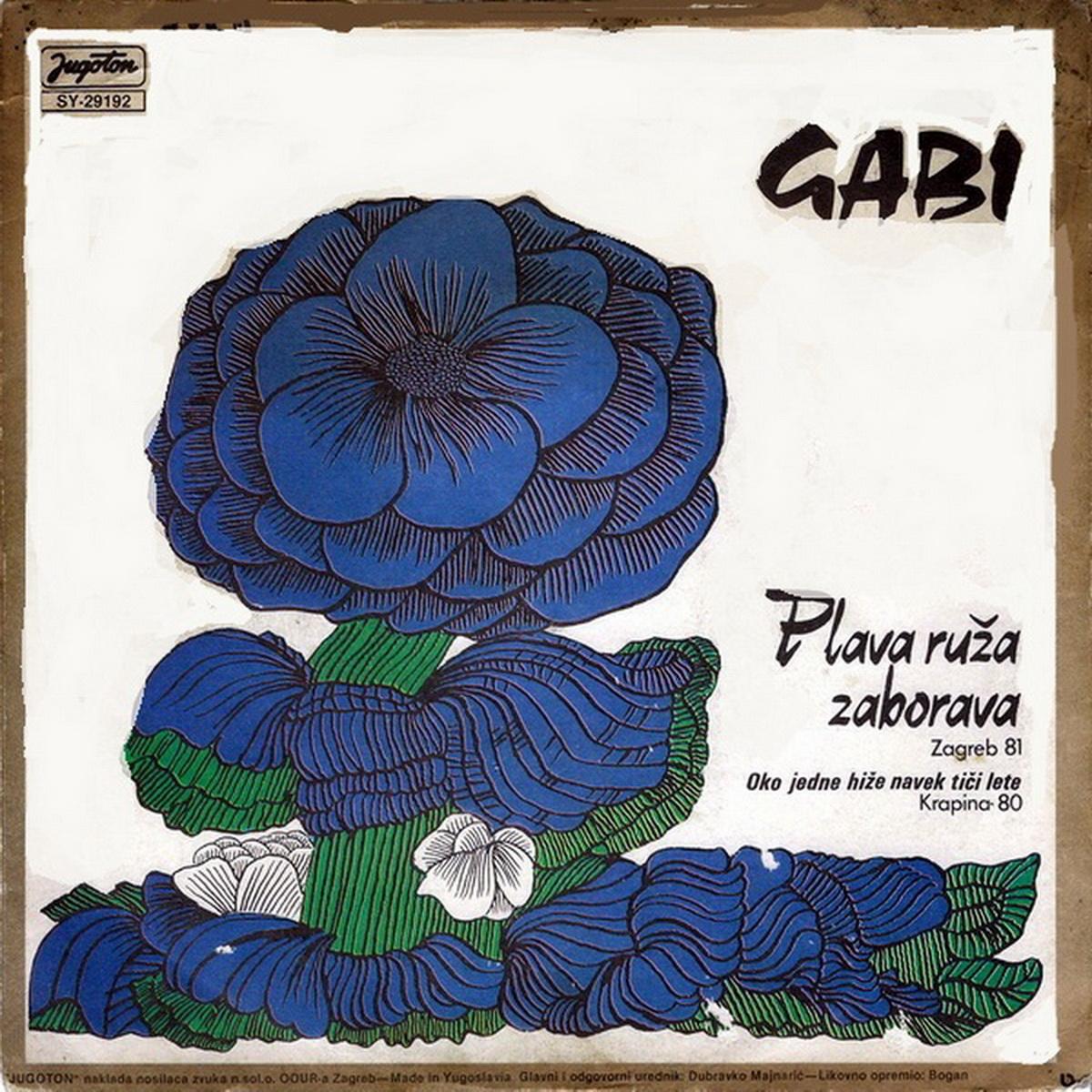 Gabi Novak 1981 Plava ruza zaborava A